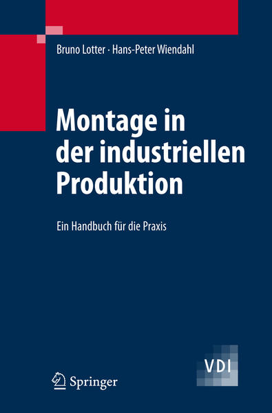 Montage in der industriellen Produktion - Coverbild