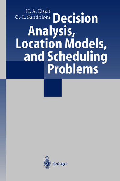 Decision Analysis, Location Models, and Scheduling Problems - Coverbild