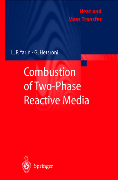 Combustion of Two-Phase Reactive Media - Coverbild