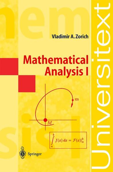 Mathematical Analysis I - Coverbild