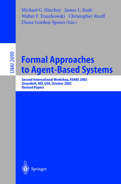 Formal Approaches to Agent-Based Systems - Coverbild