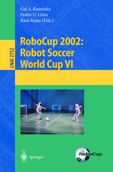 RoboCup 2002: Robot Soccer World Cup VI - Coverbild