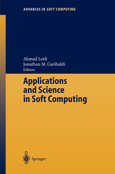 Applications and Science in Soft Computing - Coverbild