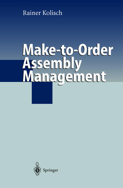 Make-to-Order Assembly Management - Coverbild