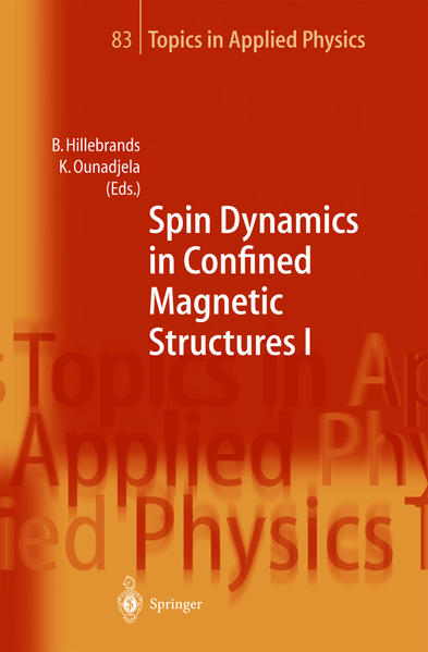 Spin Dynamics in Confined Magnetic Structures I - Coverbild