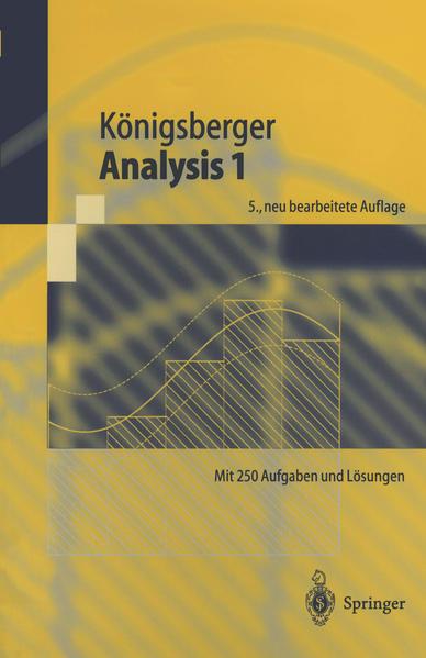 Analysis 1 - Coverbild