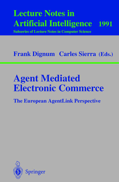 Agent Mediated Electronic Commerce - Coverbild