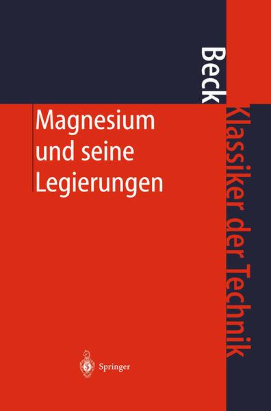 Magnesium und seine Legierungen - Coverbild