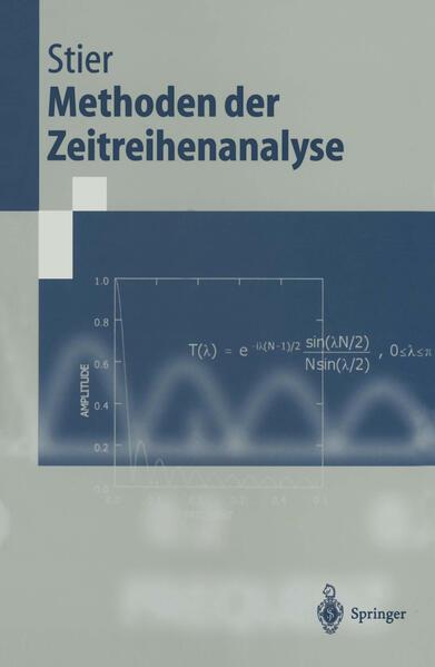 Methoden der Zeitreihenanalyse - Coverbild