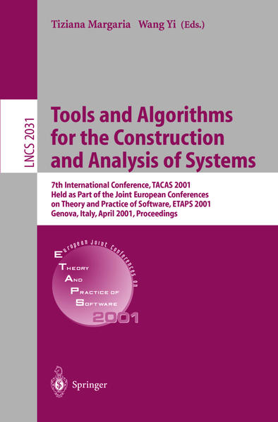 Tools and Algorithms for the Construction and Analysis of Systems - Coverbild