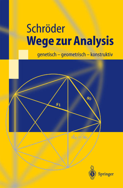 Wege zur Analysis - Coverbild