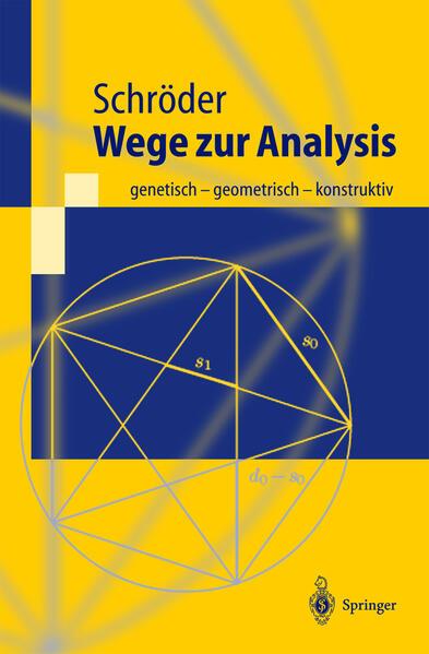 Wege zur Analysis - Coverbild