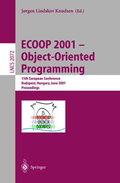 ECOOP 2001 - Object-Oriented Programming - Coverbild