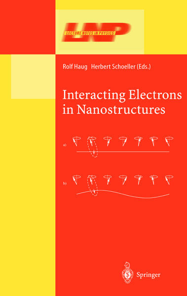 Interacting Electrons in Nanostructures - Coverbild