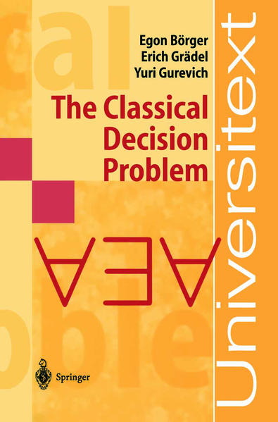 The Classical Decision Problem - Coverbild