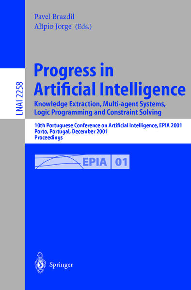 Progress in Artificial Intelligence. Knowledge Extraction, Multi-agent Systems, Logic Programming, and Constraint Solving - Coverbild