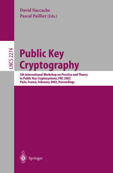 Public Key Cryptography - Coverbild