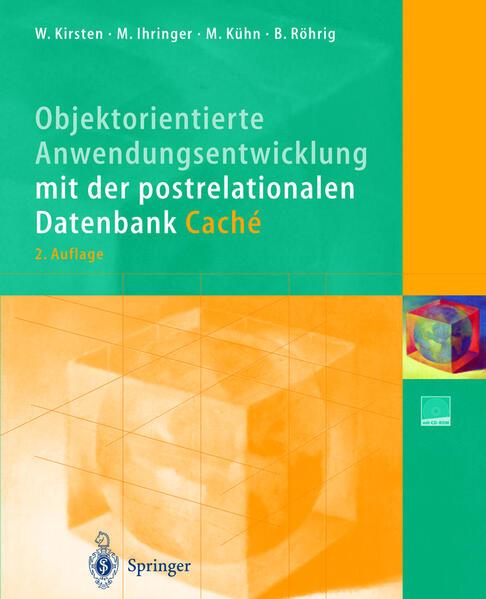 Objektorientierte Anwendungsentwicklung mit der postrelationalen Datenbank Caché - Coverbild
