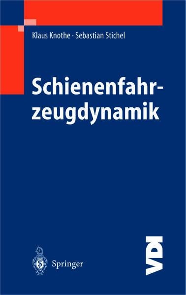 Schienenfahrzeugdynamik - Coverbild