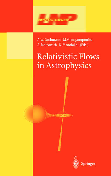 Relativistic Flows in Astrophysics - Coverbild