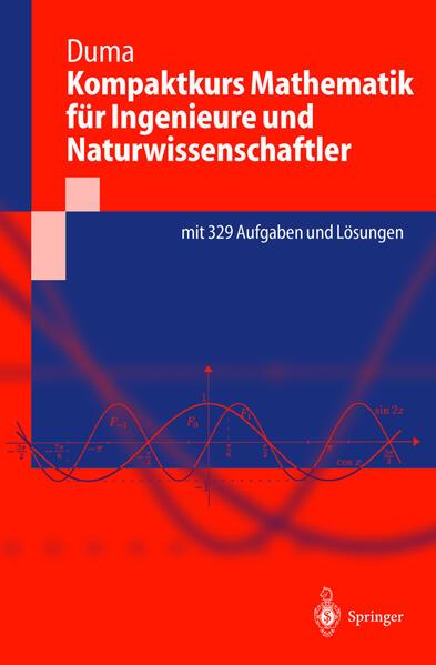 Kompaktkurs Mathematik für Ingenieure und Naturwissenschaftler - Coverbild
