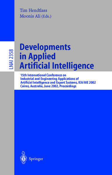 Developments in Applied Artificial Intelligence - Coverbild