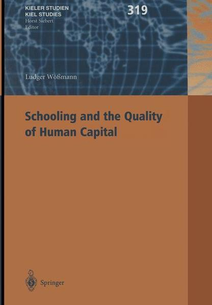 Schooling and the Quality of Human Capital - Coverbild