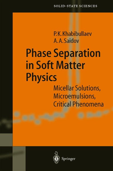 Phase Separation in Soft Matter Physics - Coverbild