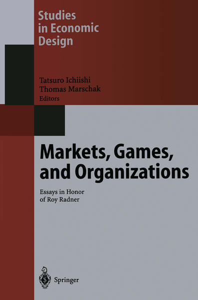 Markets, Games, and Organizations - Coverbild