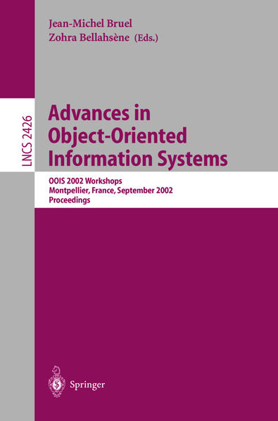 Advances in Object-Oriented Information Systems - Coverbild