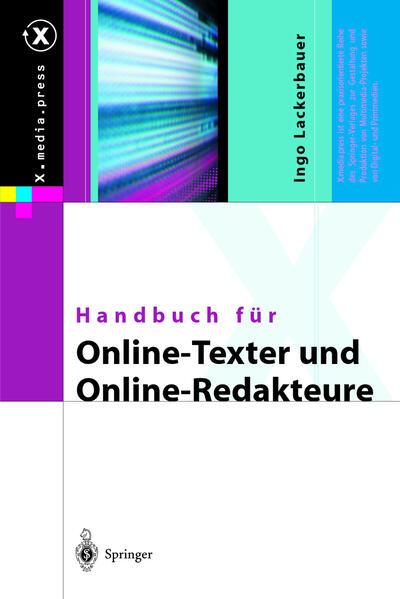 Handbuch für Online-Texter und Online-Redakteure - Coverbild