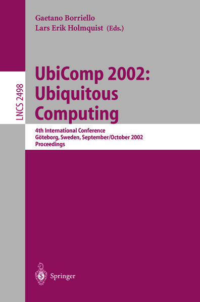 UbiComp 2002: Ubiquitous Computing - Coverbild