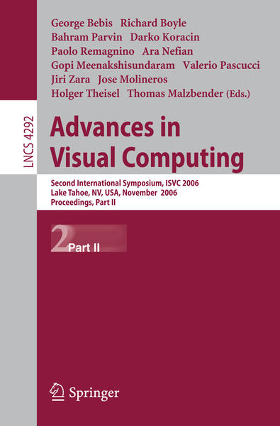 Advances in Visual Computing - Coverbild
