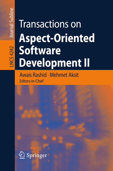 Transactions on Aspect-Oriented Software Development II - Coverbild