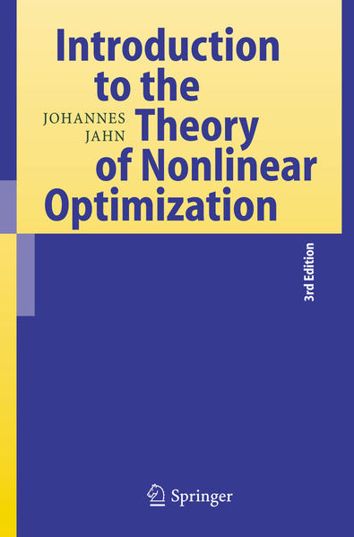 Introduction to the Theory of Nonlinear Optimization - Coverbild