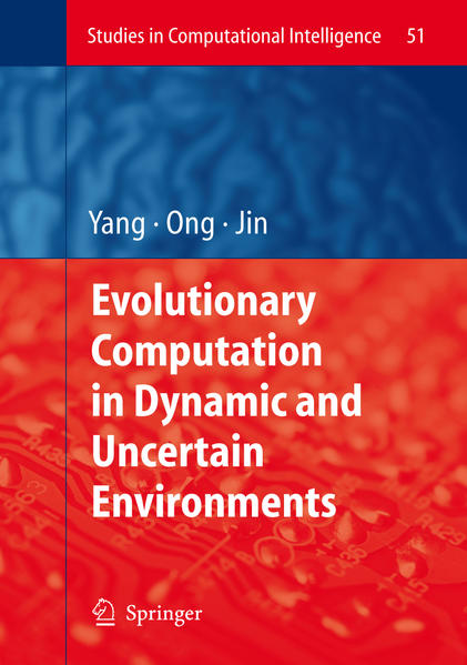 Evolutionary Computation in Dynamic and Uncertain Environments - Coverbild
