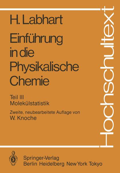 Einführung in die Physikalische Chemie - Coverbild