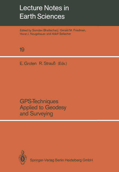 GPS-Techniques Applied to Geodesy and Surveying - Coverbild
