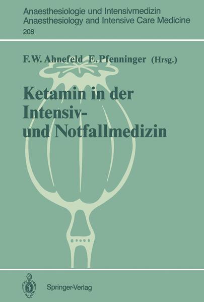 Ketamin in der Intensiv- und Notfallmedizin - Coverbild