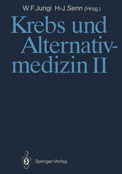 Krebs und Alternativmedizin II - Coverbild
