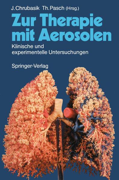 Zur Therapie mit Aerosolen - Coverbild
