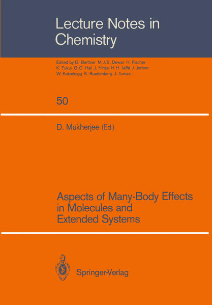 Aspects of Many-Body Effects in Molecules and Extended Systems - Coverbild