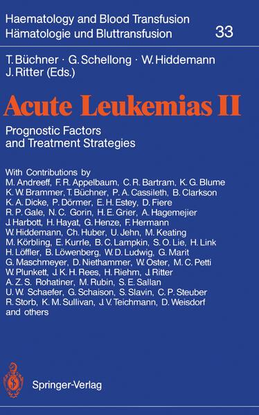 Acute Leukemias II - Coverbild