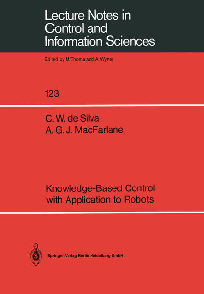 Knowledge-Based Control with Application to Robots - Coverbild