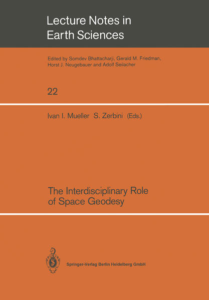 The Interdisciplinary Role of Space Geodesy - Coverbild