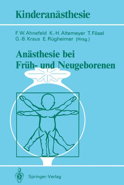 Anästhesie bei Früh- und Neugeborenen - Coverbild
