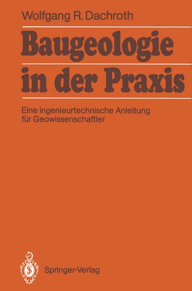 Baugeologie in der Praxis - Coverbild