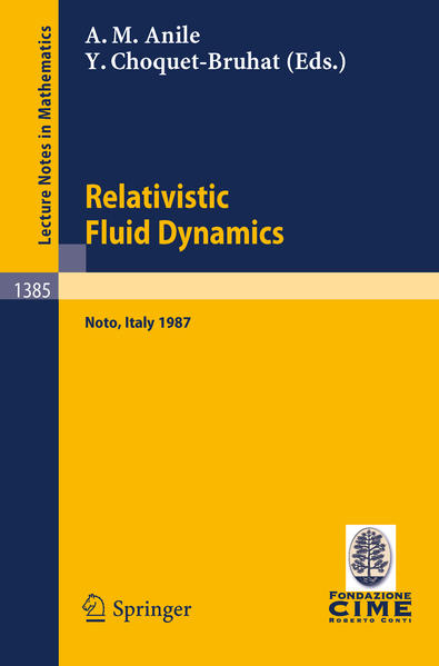 Relativistic Fluid Dynamics - Coverbild