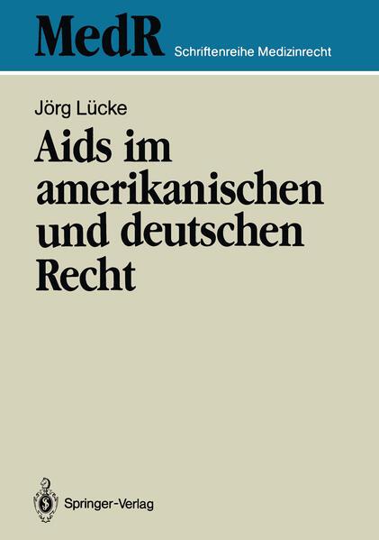 Aids im amerikanischen und deutschen Recht - Coverbild