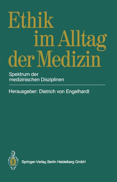 Ethik im Alltag der Medizin - Coverbild